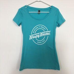 Krispy Kreme doughnut graphic T-shirt